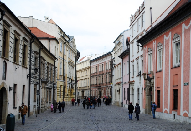 The streets of Krakow