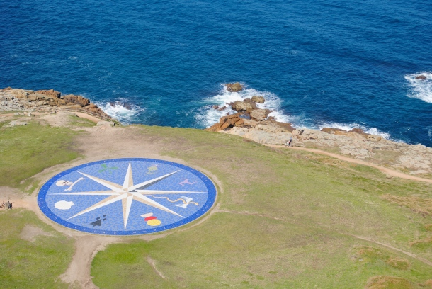 The view from the Tower of Hercules
